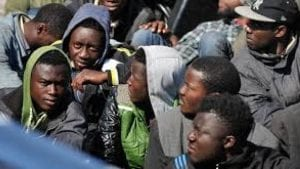Migrants being sold at slave auctions in Libya
